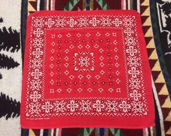 Vintage FAST COLOR 100% Cotton bandana