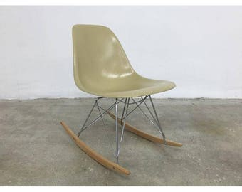 Eames Side Shell Rocking Chair Herman Miller 1960s