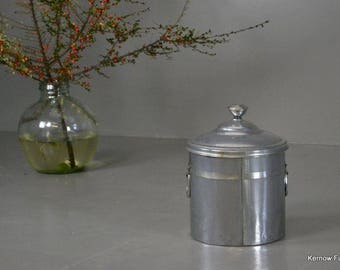 Vintage Deco Style Chrome Coal Bucket