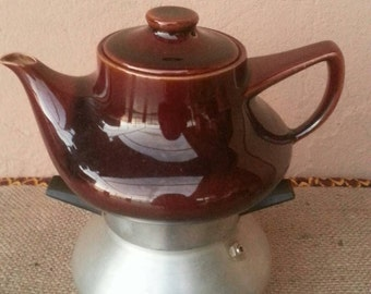 Vintage coffee maker/letizia coffee maker/Italian coffee maker/stove top coffee maker/ceramic coffee maker