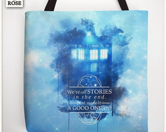 Tote Bag - Doctor Who | We're all stories in the end