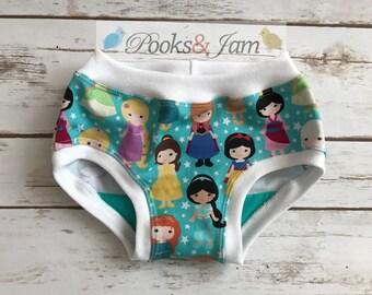 Princess Toddler/Girl Underwear/Panties/Tagless Underwear/Lined