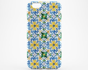 Morocco Phone Case Yellow Flower iPhone 7 Case iPhone 7 Plus iPhone 6 iPhone 6 Plus iPhone SE iPhone 4-5 HTC Case Huawei Blue Marble Galaxy