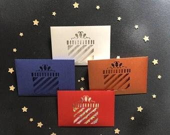 Gift Card Envelopes, Money Holder, Gift Money Envelopes, Gift Giving, Set of 8