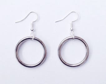 O Ring Earrings