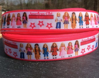 American Girl Ribbon, Doll Ribbon, American Girl Bow, American Girl Birthday,  Ribbon