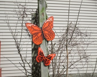 Monarch Butterfly Yard Signs