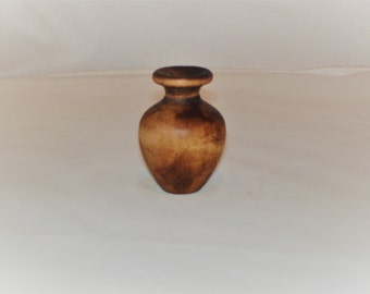 Mini Wooden Urn