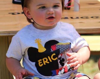 Mickey Mouse Birthday Outfit / Custom Birthday Outfit