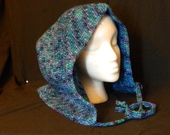 Crochet Hood, Oceana - Adult