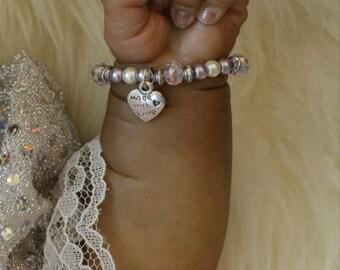 Reborn art baby bracelet