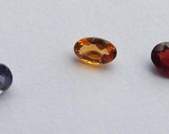 Trio Parcel Citrine Iolite & Garnet