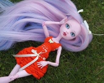 """Doll dress for Monster High 17"""" Dolls."""