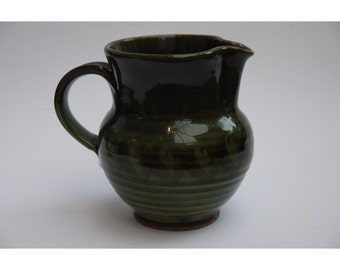 Godshill studio pottery jug by Kate Charman