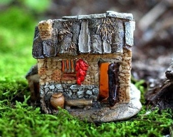 Fairy House Mini With Light