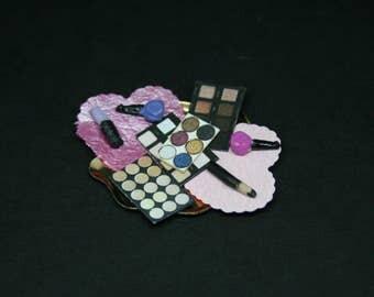 Make-Up Set ~ Dolls House Miniature  ~ 12th Scale