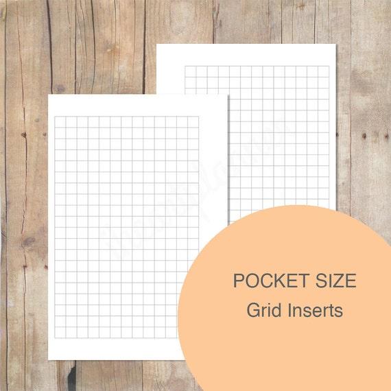 Pocket Size Grid Inserts