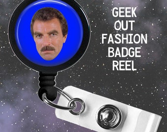 Tom Selleck Badge Reel