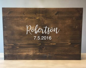 Wedding guest book alternative, Wood wedding guest book, wood guest book, Wedding guestbook alternative, Wood guestbook, wooden guestbook