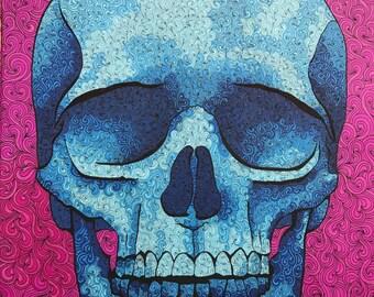 """Skull Print 11"""" x 14"""""""