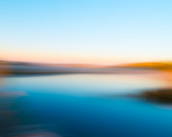 Of Sea and Sky - Fine Art Photographic Print - Abstract