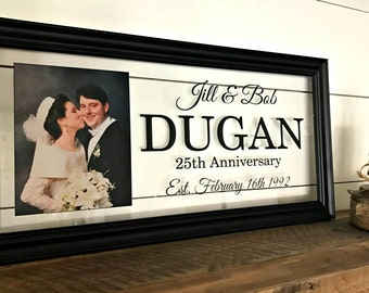 25th Wedding Anniversary Gift Man : Gift, 25th Anniversary, Husband Gift, 25th Anniversary Gifts for Men ...