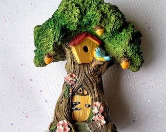 Fairy Garden Tree House | Fairy Garden House | Miniature Garden Tree House | Fairy Garden Accessories | Fairy House