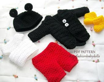 Doll pattern for boys, Crochet doll clothes pattern, Crochet pattern