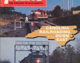 TRAINS April 1988 The Magazine of Railroading, Train Railroad Railroads Magazine!