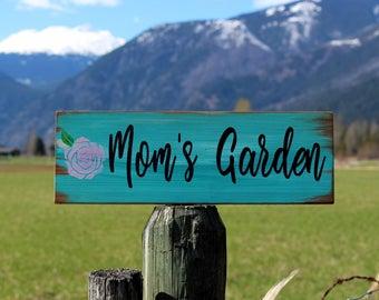Mother's Day Gift - Gardening Gift - Garden Sign - Garden Decor - Gift for Mom - Outdoor Decor - Rustic Garden Sign -  Barn Wood Garden Sign