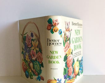 Vintage Mid Century Better Homes And Gardens New Garden Book, Vintage Gardening Book, How To Grow Tree, Flowers, Fruits and Vegetables