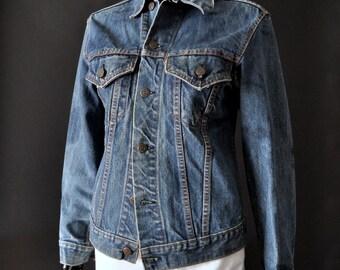 Rare Cross-over 1967 to 1968 Levi's Big E Type III Denim Jacket #70505-0217