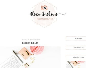 Blogger Template: Alexa Jackson