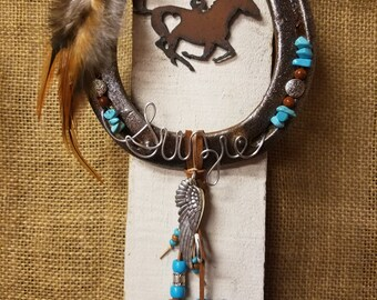 Horse Memorial, Horse Memorial Jewelry, Pet Memorial, Custom Horseshoe, Horseshoe Decor, Pet Memorial Jewelry, Memorial Horseshoe
