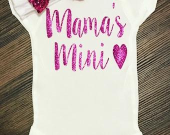 Trending Now - Mama's Mini | Mama's Girl Shirt | Baby Girl Shirt | Baby Shower Gift | Baby BodySuit | Toddler Shirt | Custom Infant Shirt