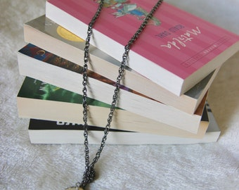 Pretty Little Pages Necklace