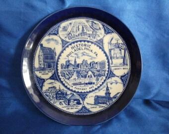 Collectors Plate Historic Philadelphia. PA