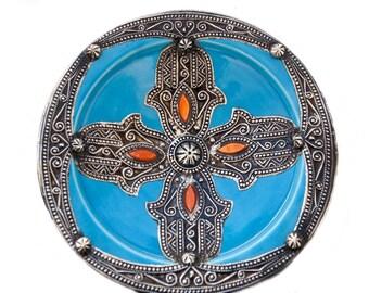 Ceramic Hamsa Etsy