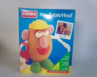 Vintage Playskool Mrs. Potato Head & Accessories
