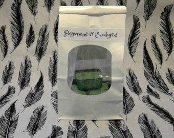 Peppermint & Eucalyptus, 4oz!! Soy Wax Melts, Tarts,