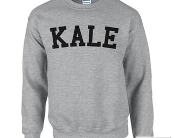 KALE Sweatshirt Shirt, Graphic Sweatshirts, Popular sweatshirts, 306