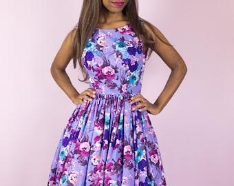 Purple Orchid Dress