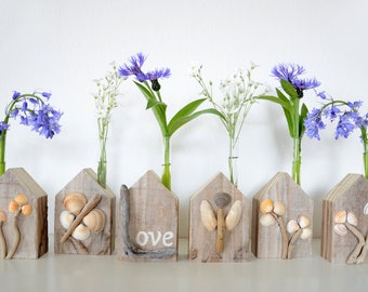 driftwood vase cottage for example with beautiful shells