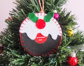 Vinyl Record Christmas Pudding   LP   Christmas Decoration   Christmas Pudding Decoration   Tree Decoration   Tree Ornament   Music Lover
