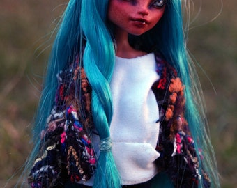 Isi Dawndancer Monster High Doll Repaint Faceup