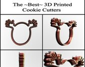 Custom Cookie Cutter, Personalized Cookie Cutter, Clay Cutter, Fondant Cutter, Custom Design Cookie Cutter, 3D Print, Easter Cookie Cutter