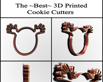 Custom Cookie Cutter, Personalized Cookie Cutter, Clay Cutter, Fondant Cutter, Custom Design Cookie Cutter, 3D Print, Valentines Cookie