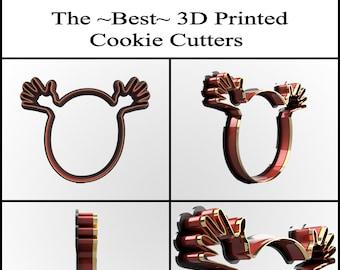 Custom Cookie Cutter - Personalized Cookie Cutter - Clay Cutter - Fondant Cutter - Custom Design Cookie Cutter - 3D Print - FunOrders