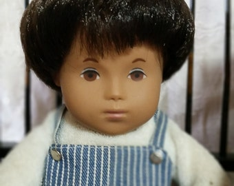 1980's Sasha Baby Boy Doll All Original with Box