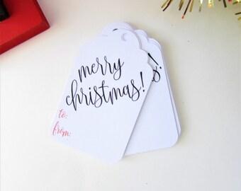 Christmas Gift Tags, Merry Christmas Gift Tags, Gift Tags Pack, Holiday Gift Tags, Custom Gift Tags, Personalized Gift Tags, Xmas Gift Tags,